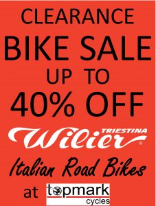 Wilier Clearance Sale