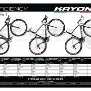 Kuota Kryon prices 2017